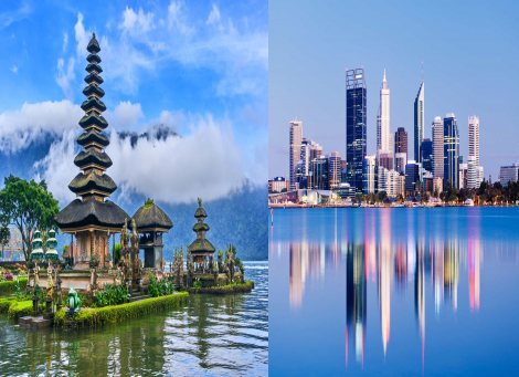 Bali & Perth Package